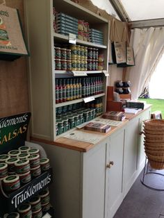 Tracklements at Badminton Horse Trials 2015 Badminton Horse Trials, Piccalilli, British Countryside, Food Shows, Wine Rack, Jars, Home Decor, Decoration Home, Pots