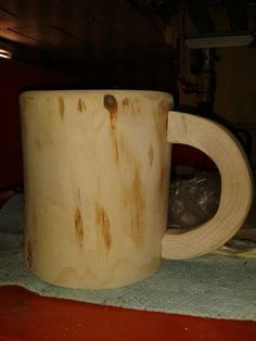 Picture of wooden beer mug