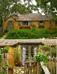 Imagined by many a passer-by to be the cottage of the Seven Dwarves, Sunwise Turn is another Comstock creation. Shabby and sweet just as a real unkempt cottage in the woods, the home also known as the Elspeth Rose house is totally timeless.