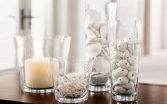 Ideas para decorar con jarrones de cristal - Hogar Total