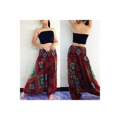 Baggy Harem Pants ❤ liked on Polyvore featuring pants, baggy harem pants, baggy pants, baggy trousers, harem pants and harem trousers