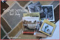 The Great Depression Unit Study | http://www.royallittlelambs.com/