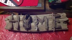 Mom's Drift Wood Craft