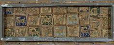 BORDADO HISPANOMUSULMAN DEL ARCA DE SAN ISIDORO DE LEON - SIGLO XI.  BORDADO HISPANOMUSULMAN DEL ARCA DE SAN ISIDORO DE LEON - SIGLO XI. Location: COLEGIATA DE SAN ISIDORO, LEON, SPAIN.  Photo Credit:  Album / Art Resource, NY  Image Reference:  orz090196  Image size:  550 X 220 px