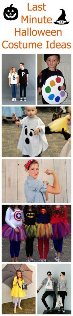 Halloween TV Show and Movies - Parenting Healthy Halloween Fun - quick halloween costumes ideas