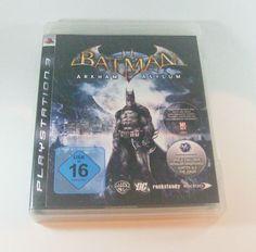 #Batman: Arkham Asylum #Playstation 3 ( #PS3 ) KOMPLETT mit Anleitung