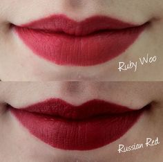 MAC lipstick | MAC lip kit | ruby woo | russian red | lip liner | matte lipstick | beauty | lipstick | makeup