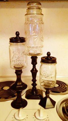 More DIY apothecary jars I made