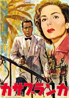 Directed by Michael Curtiz. With Humphrey Bogart, Ingrid Bergman, Paul Henreid, Claude Rains. A cynical American expatriate struggles to decide whether or not he should help his former lover and her fugitive husband escape French Morocco. Ingrid Bergman, Humphrey Bogart, Casablanca Film, Paul Henreid, Claude Rains, Peter Lorre, Sydney, Poster Store, Movie Posters