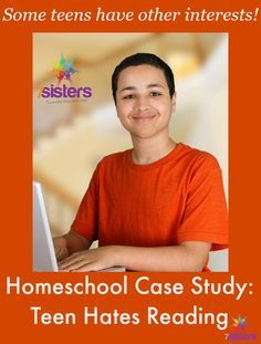 Homeschool Case Study: High Schooler Hates Reading. What do you do if your teen hates literature? Here are some ways to get the high school literature credit even with a reluctant reader.