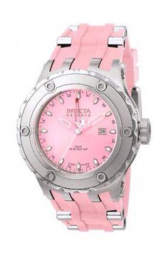 Pink Invicta women's watch