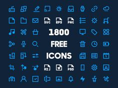 2,500+ Free Vector Icons