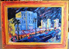 Ocean Drive,, acrylic on canvas