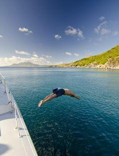 Diving into bliss #ChristopheHarbour #StKitts www.christopheharbour.com