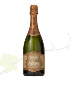 Fresh and full of flavor, KORBEL Blanc de Noirs is the perfect summer champagne.