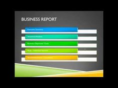 Business report example hsc routine
