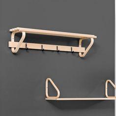 Artek – coat rack 109C – Alvar Aalto Coat Hanger, Clothes Hanger, Scandinavia Design, Nordic Home, Alvar Aalto, Bamboo, House Styles, Storage, Feels