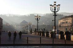 Torino alle prime ore del mattino