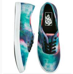 Rainbow/ tye die VANS shoes