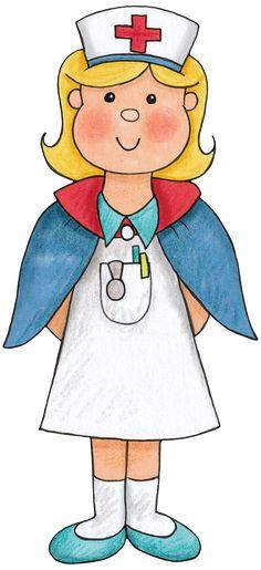 E-mail - Jenny van Losser - Rozendom - Outlook Medical Clip Art, Medical Symbols, Community Workers, Community Helpers, People Who Help Us, Kindergarten, Cute Clipart, Digi Stamps, Nurse Gifts