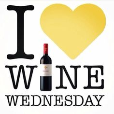 I Love Wine Wednesday!
