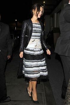 Keira Knightley.. Michael Van Der Ham Spring 2015 dress..