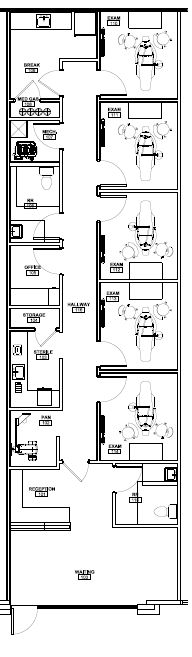 Family and General Dentistry Floor Plans   dental office in addition Dental Office Design Floor Plans   Nine Chair Dental Office likewise  furthermore Dental Floorplan DISASTER AVERTED  close call disaster together with  besides  further Dental Office Floor Plans   Corglife additionally 1200 sq ft salon spa floor plan   Google Search   My Salon Project together with Gallery of Dental Clinic   NAN Arquitectos   16   Interiors further  furthermore . on dental floor plans