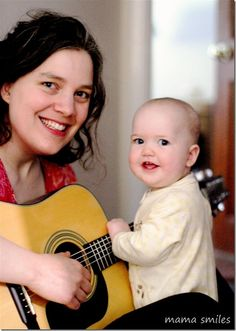Music and Parenting - ways to incorporate music into daily life and the benefts of using music with children! - Mama Smiles - Joyful Parenting  What role does music play in your life?