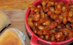 Saltwater Happy's HOMEMADE BAKED BEANS