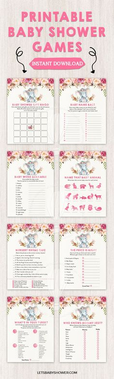 free printable baby shower game #baby shower, coprinted, birth - baby shower agenda template