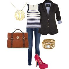 Love the way this outfit was styled!! Also, the stacking on the rings and the satchel are just gorgeous.