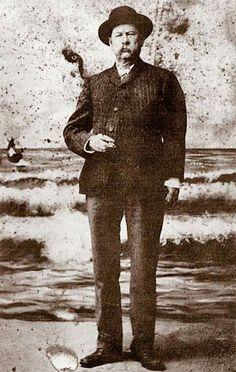 Virgil Earp in later years.
