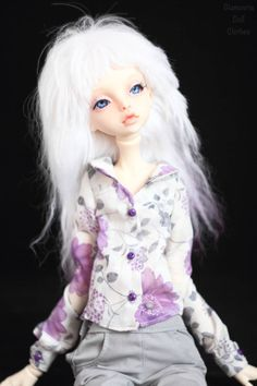 Blouse from batiste for Doll Chateau KID bjd doll by GlamouriaDollClothes on Etsy https://www.etsy.com/listing/580485054/blouse-from-batiste-for-doll-chateau-kid