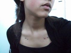Image detail for -Collar bone surface piercings - Body Piercing and Jewellery Picture ...
