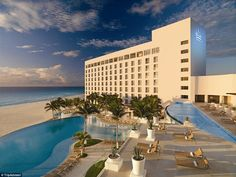 Number two Best All-Inclusive Resort: Le Blanc Spa Resort, Cancun, Mexico was applauded for impeccable service and an intimate environment among all other resorts of Cancun