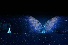 Le Mystère de Noël, un spectacle son et lumière magnifique pour les petits comme pour les grands. #GrandNoel #PuyduFou #Magnifique #lumieres #orchestre #MysteredeNoel #christ #spectacle #son #Vendee #France
