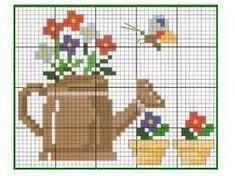 Butterfly Cross Stitch, Mini Cross Stitch, Cross Stitch Cards, Cross Stitch Flowers, Cross Stitching, Cross Stitch Embroidery, Embroidery Patterns, Cross Stitch Patterns, Pony Bead Patterns