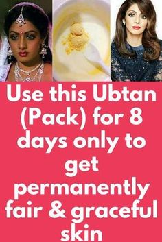 Use this Ubtan (Pack) for 8 days only to get permanently fair & graceful skin Beauty Tips For Face, Beauty Skin, Beauty Care, Face Tips, Beauty Tricks, Beauty Secrets, Beauty Ideas, Diy Beauty, Beauty Makeup