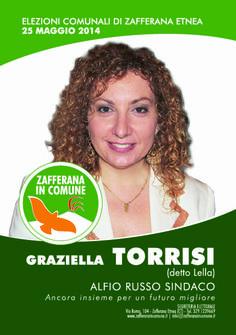 I nostri Candidati: Graziella Torrisi #ZafferanainComune #AlfioRussoSindaco