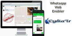 Whatsapp Web Enabler eklentisi ile Jailbreak'li cihazlarda Web tarayıcınız üzerin den, Whatsapp uygulaması ile sürekli telefona gerek kalmadan bilgisayar başın da mesajlaşmanıza yardımcı olur. http://www.cydiatr.com/whatsapp-web-enabler.html
