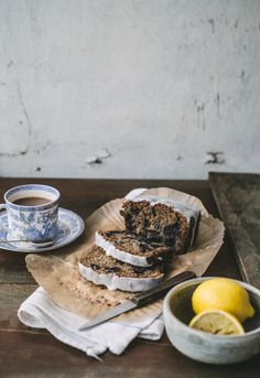 Earl Grey Tea, Blueberry, & Lemon Cake | Top With Cinnamon