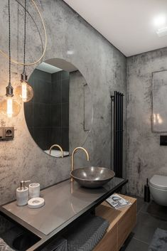 Bathroom Sink Design, Bathroom Design Luxury, Bathroom Layout, Small Bathroom, Bathroom Design Inspiration, Bad Inspiration, Wc Design, House Design, Modern Shower