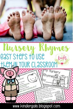 Using Nursery Rhymes in the Classroom - Steps for teaching rhymes in the classroom! Great for kindergarten and pre-k classrooms! Teaching Phonics, Preschool Learning Activities, Classroom Activities, Fun Learning, Teaching Ideas, Classroom Ideas, Preschool Classroom, Teaching Tools, Classroom Organization