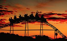 I loved the roller coasters at Riverview Park in Chicago, posted via moonlightrainbow.tumblr.com