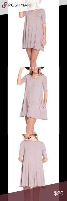 Tunic dress Runs large, fits more like a large. EUC. Only worn once. 🚭 Smoke free, 💜😺🐶 Pet friendly household. Tops Tunics
