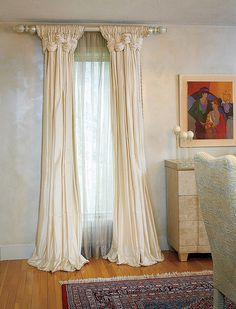 Window Treatment Ideas and Curtain Designs Photos Commercial Interior Design, Commercial Interiors, Window Coverings, Window Treatments, Rideaux Shabby Chic, Curtains With Blinds, Valances, Easy Curtains, Window Curtains