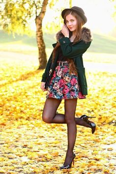 Tights and Pantyhose Fashion Inspiration. Follow for more! Facebook, Instagram, Pinterest #highheelbootslingerie
