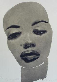 Marlene Dumas, lithograph