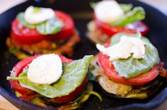 eggplant meals | ... Oven Roasted Eggplant Stack with Fresh Mozzarella | Forkin Good Food