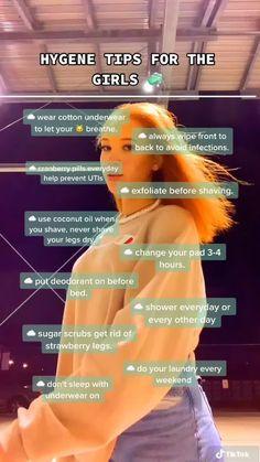 Girl Advice, Girl Tips, Beauty Tips For Glowing Skin, Health And Beauty Tips, Teen Life Hacks, Girl Hacks, Beauty Life Hacks, Healthy Skin Tips, Glow Up Tips